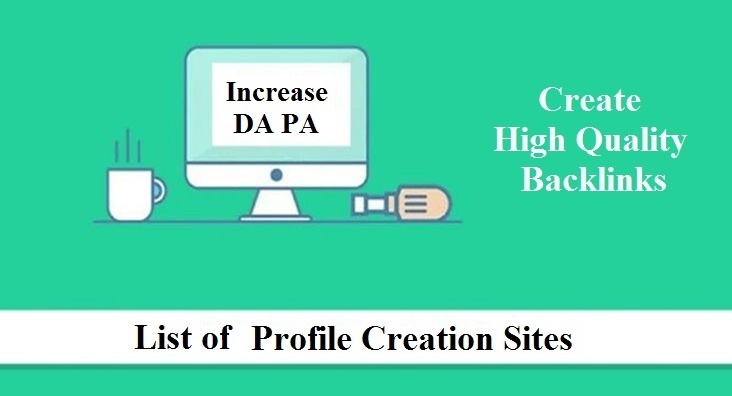 ree Dofollow Profile Creation sites