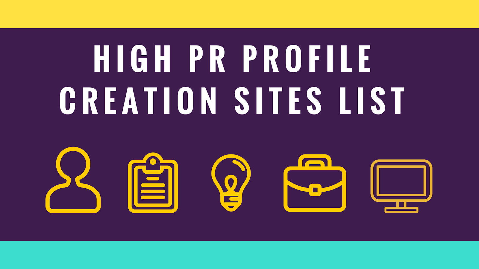New Profile Creation Sites List for 2019